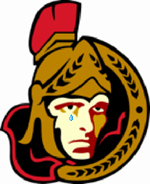 Senators logo w/ tear