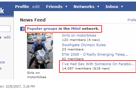 Mitel - Facebook groups